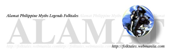 Alamat, A Philippine Folktales, Myths and Legends Page
